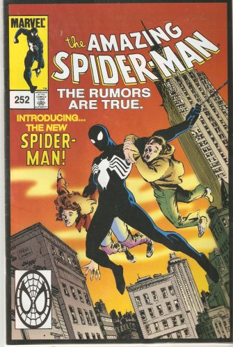 Download The Amazing Spider-man #252 October 2000 First Appearance of Black Costume (Reprint) pdf