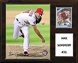 "C&I Collectables MLB Washington Nationals Matt Scherez Player Plaque, 12""x15"""