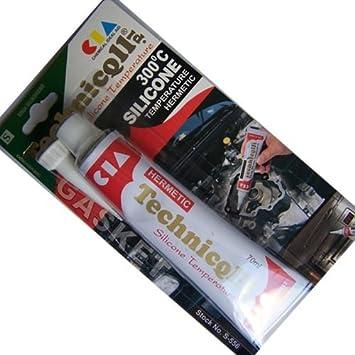 350° Schwarz 300g Schnelle Farbe Auto & Motorrad: Teile Autopflege & Aufbereitung 6x K2 Silikon Silikon Hochtemperatur Dichtmasse