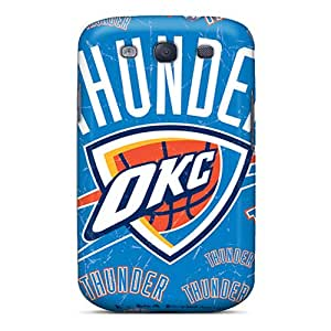 InesWeldon Samsung Galaxy S3 Excellent Hard Phone Cover Support Personal Customs Nice Oklahoma City Thunder Pictures [CjE13198cFHZ]