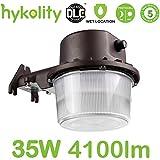 Hykolity 35W Dusk To Dawn LED Barn Light Outdoor Waterproof Yard Light Fixture [300w Equivalent] 4100lm 5000k Daylight Photocell Sensor Included ETL Listed