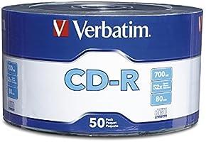 Verbatim Torre de 50 CDs 97488 CD-R 80 min / 700 MB, 52X
