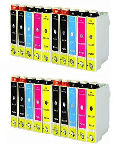 20-Pack replacement Remanufactured 220 T220 220XL Ink Cartridge (8BK, 4C, 4M, 4Y) for use in WF-2760, WF-2750, WF-2630, WF-2650, WF-2660, XP-320, XP-424, XP-420 series printer. supplier