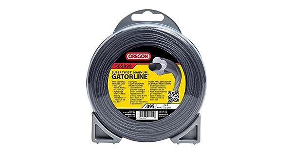 Amazon.com: Oregon 565999 Super Twist Magnum gatorline, Gris ...