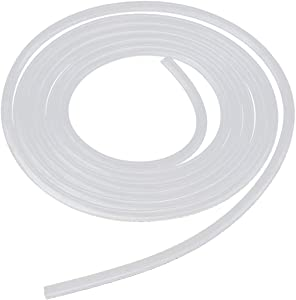 "1/4"" ID Silicon Tubing, CellarBrew Food Grade Silicon Tubing 1/4"" ID x 3/8"" OD 25 Feet High Temp Pure Silicone Hose Tube for Home Brewing Winemaking"