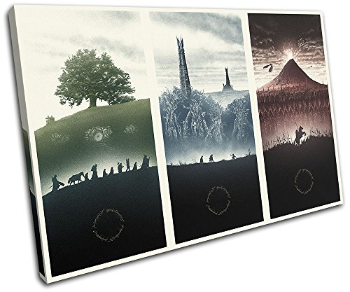 Bold Bloc Design - Lord of the Rings Movie Greats 60x40cm SI