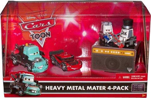 Disney / Pixar CARS Movie Exclusive 155 Die Cast 4Pack Heavy