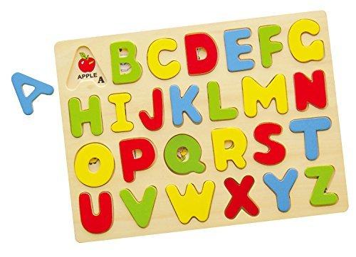ide Alphabet Puzzle/ABC Puzzle, 26-Piece (See Inside Alphabet Puzzle)