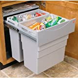 Double Easy Cargo 13 Gallon Pull-Out Waste Bin