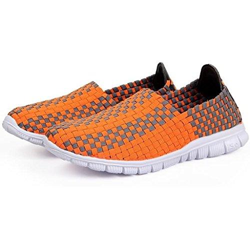 Sneakers Slip on Tessuto Traspirante Gwell Orange Doppio Unisex Sneaker Colore Aq6PafUO