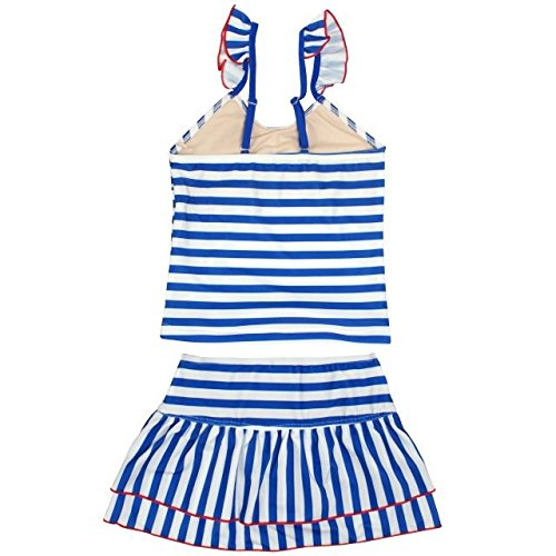(レモンシロップ)LEMONSYRUP水着女の子ジュニアセパレート水着タンキニスイムウェアブルー150