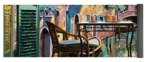 Pixels Yoga Mat w/ Bag ''Un Soggiorno A Venezia'' by Pixels