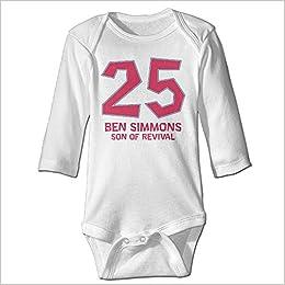 brand new 75e9d 9fd96 Amazon.com: PGiG Baby's Ben Simmons Philadelphia 76ers ...