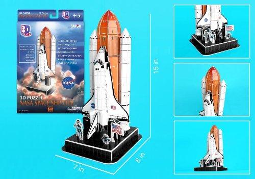 Boosters Shuttle Space (Space Shuttle 3D Puzzle (87 Pieces))