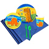 T-Rex Dinosaur Party Supplies - Party Pack for 8