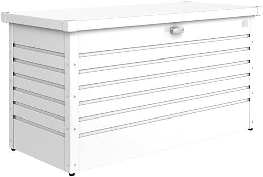 Graf Bauzentrum - Arcón de almacenaje, color blanco: Amazon.es: Jardín