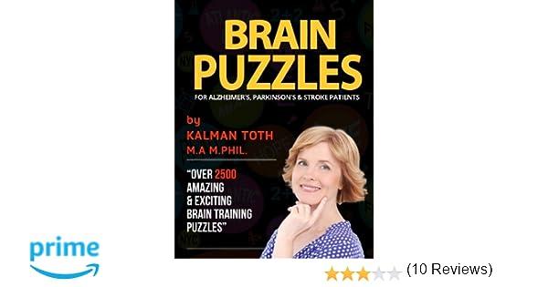Brain Puzzles For Alzheimer's, Parkinson's & Stroke Patients ...