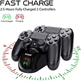 Y Team PS-4 Controller Charger, Dual USB PS-4
