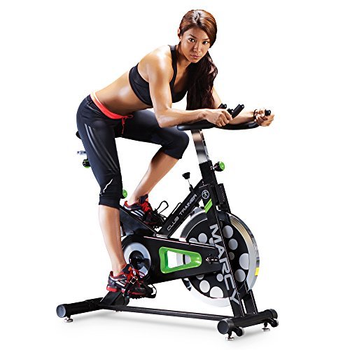 Marcy Club Revolution Bike Cycle Trainer for Cardio Exercise (Spin Cycle)