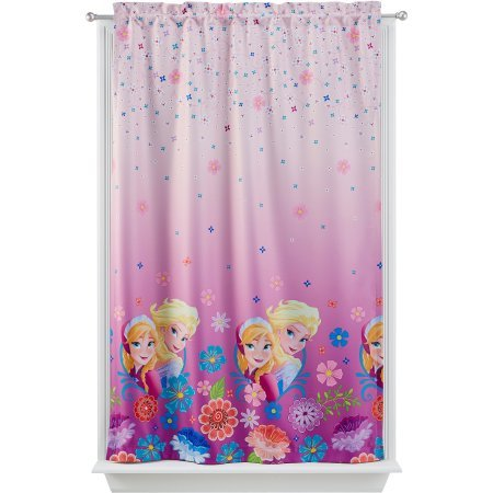 Disney ''Frozen'' Room Darkening Girl's Bedroom Curtain Panel