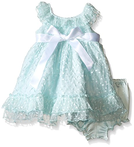 [Laura Ashley London Baby Mint Point D'esprit Dress, Green, 18 Months] (Baby Easter Dresses)