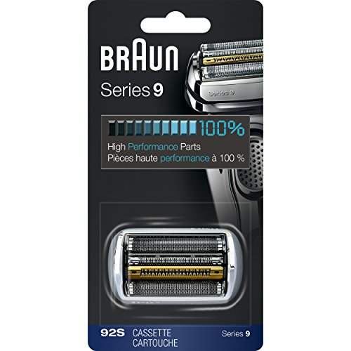 Foil Enhanced Cover - Braun Series 9 92S Foil & Cutter Replacement Head, Compatible with Models 9090cc, 9093s, 9290cc, 9293s, 9295cc