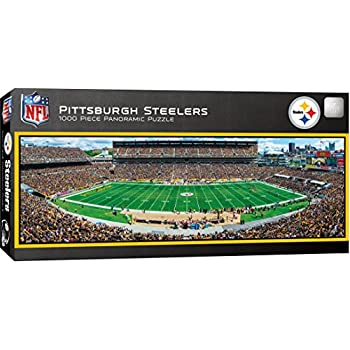 cb6628ff7c3 MasterPieces NFL Pittsburgh Steelers 1000 Piece Stadium Panoramic Jigsaw  Puzzle