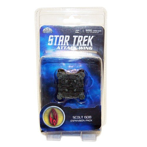 Star Trek Attack Wing: Borg Scout Cube (Borg Star Trek Cube)