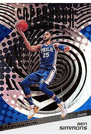 2018-19 Panini Revolution Supernova #9 Ben Simmons Philadelphia 76ers Official NBA Basketball Trading