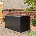 SA 460L Weatherproof Plastic Garden Storage Box