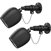 XCSOURCE 2pcs Anti Theft Mount Holder Outdoor Security Chain Wall Mount Bracket with Protective Silicone Cover for Arlo Pro, Arlo Pro 2 Camera TH1084