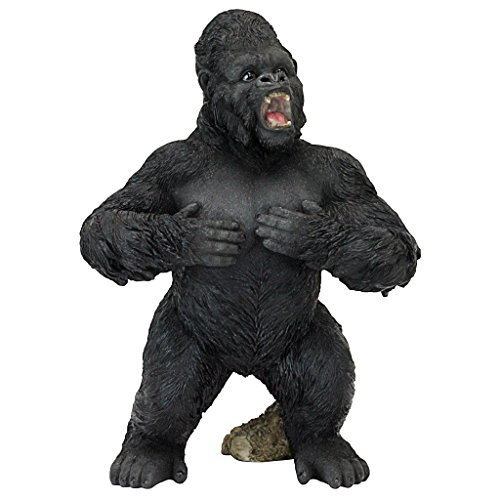 Design Toscano JQ7233 Ape Monster Jungle Animal Statue, Large, Full Color ()