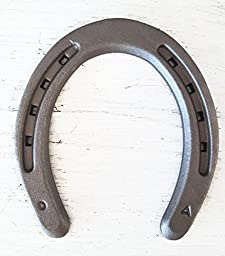 The Heritage Forge - 20 Horseshoes - Plain Shoe - Sand Blasted Steel Size 0