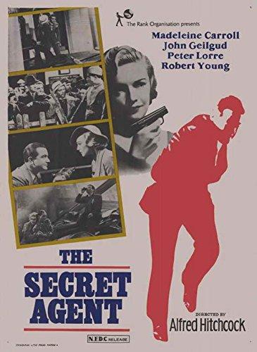 Secret Agent Movie Poster