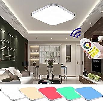 VINGO® 25W RGB LED Deckenleuchte Badezimmer geeignet ...