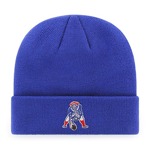 NFL New England Patriots Legacy OTS Raised Cuff Knit Cap, One Size,...