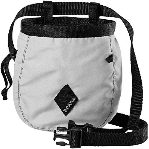 [prAna Chalk Bag with Belt, One Size, Silver] (Prana Womens Chalk Bag)