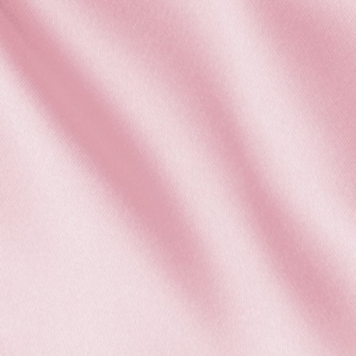 60'' Wide Slipper Satin Pink Fabric By The Yard