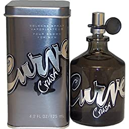 Curve Crush By Liz Claiborne For Men. Cologne Spray 4.2 Ounces