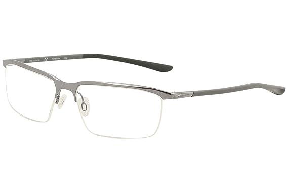 4206d0718d Eyeglasses NIKE 6071 071 GUNMETAL at Amazon Men s Clothing store