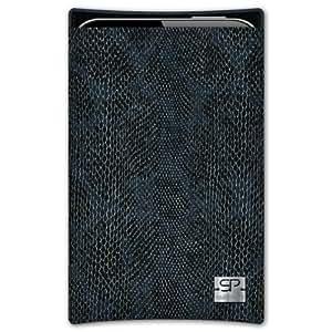 SIMON PIKECáscara Funda de móvi Boston 01 negro pour LG P760 Optimus L9 cuero artificial serpiente