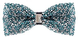 Pretied Sequin Bowties for Men
