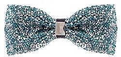 Pretied Sequin Bowties for Men