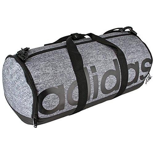 Price comparison product image adidas Unisex Originals Santiago Roll Duffel Bag, Jersey Onix/Black, One Size