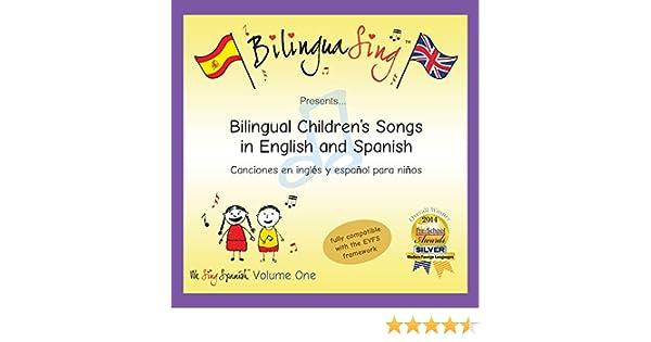 BilinguaSing, www.bilinguasing.com - Chansons en anglais et en espagnol pour les enfants | CD de chansons bilingues pour les bebes (We Sing Spanish Vol.1) ...