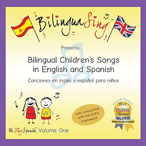 Bilinguasing bilinguasing loved by toddlers parents songs in spanish for children learn spanish cd bilinguasing we sing spanish vol 1 easy to learn lyrics included m4hsunfo