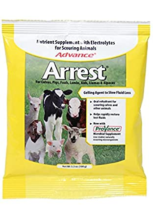 Milk Specialties 700179 Advance Arrest Non-Medicated Nutritional Supplement for Scouring Animals, 1.2-Pound Inc.