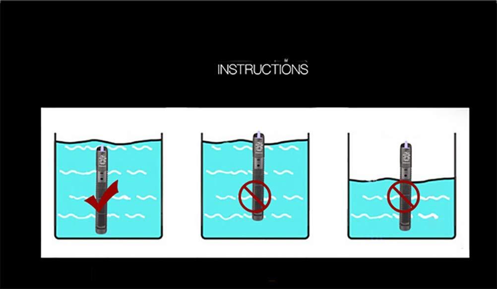 TUDIO Calentador de Acuario Sumergible Termóstato de Tanque de Pescado Calentador de Agua Dulce y Salada Ajustable: Amazon.es: Deportes y aire libre