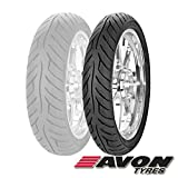 Avon Tyres Roadrider AM26 Tire - Front - 90/90V-19 , Position: Front, Tire Type: Street, Tire Construction: Bias, Tire Application: Sport, Load Rating: 52, Speed Rating: V, Tire Size: 90/90-19, Rim Size: 19 2268813
