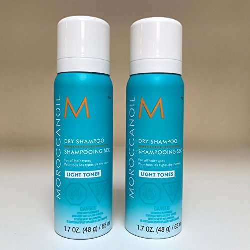Moroccan Oil Dry Shampoo 1.7oz - Light Tones - SET OF 2 by Moroccan